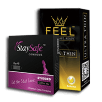 StaySafe™/FEEL™ CONDOMS RANGE