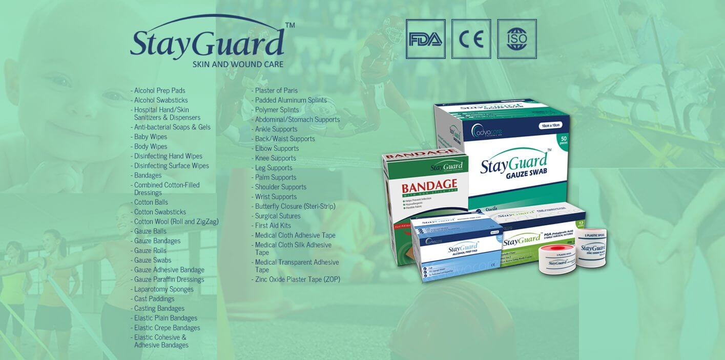 StayGuard Skin and Wound Care