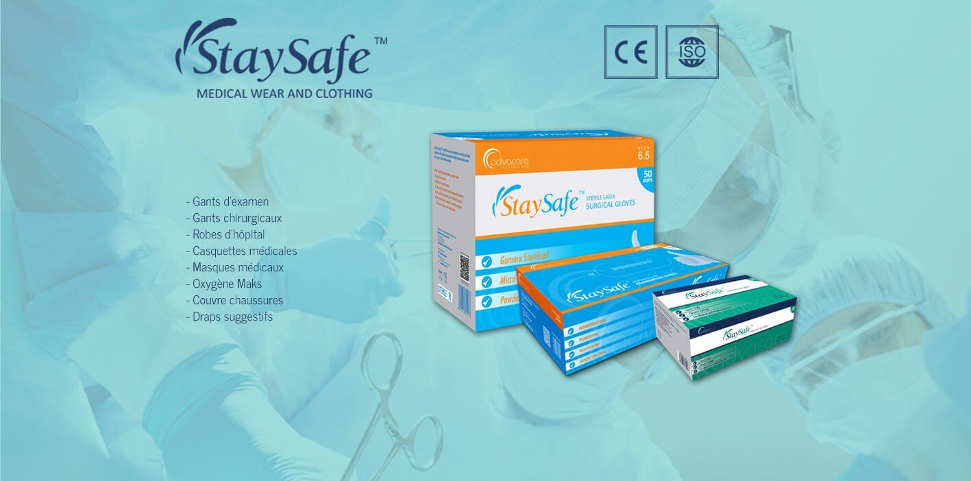 StaySafe  Medical Clothing