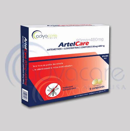 Antimalarial tablets packaging