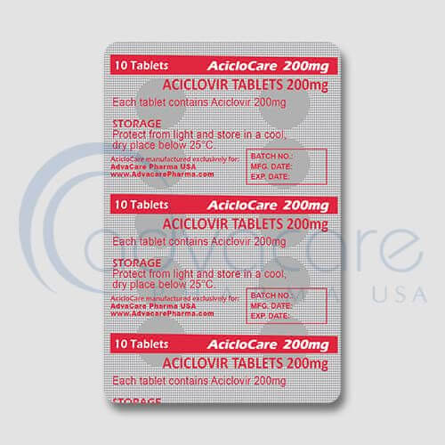 Aciclovir Tablets Manufacturer 2
