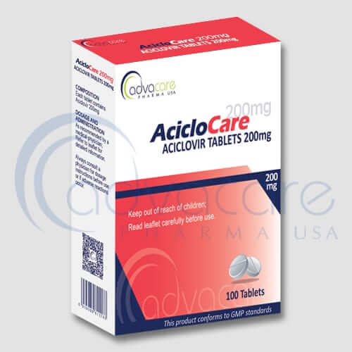 Aciclovir Tablets Manufacturer 1