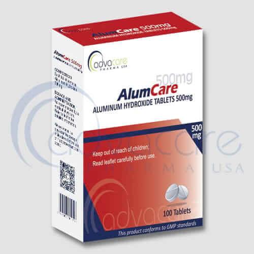 Tabletas de Hidróxido de Aluminio