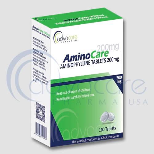 Tabletas de Aminofilina