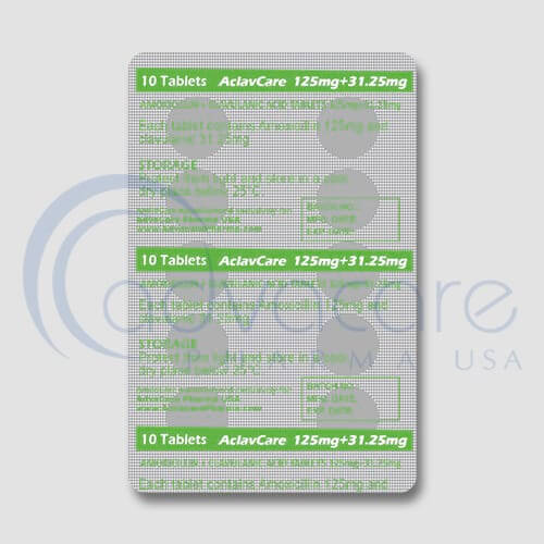 Amoxicillin + Clavulanic Acid Tablets Manufacturer 2