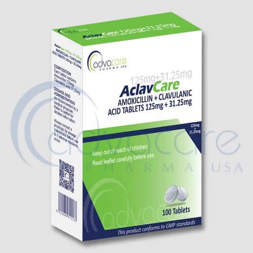 Amoxicillin + Clavulanic Acid Tablets Manufacturer 1