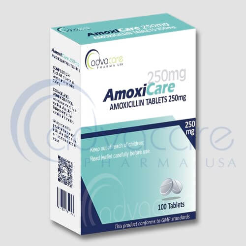 Tabletas de Amoxicilina