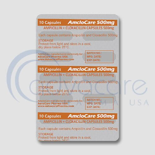 Ampicillin + Cloxacillin Capsules Manufacturer 3