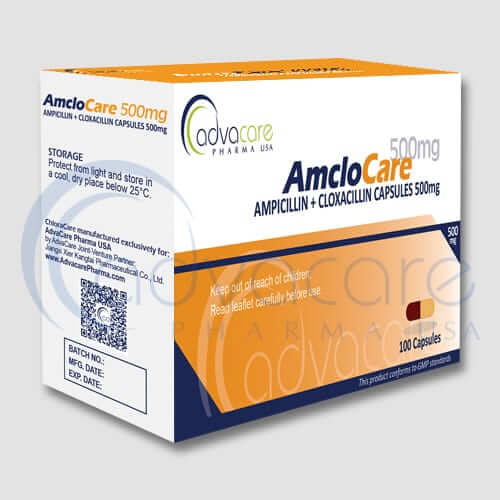 Ampicillin + Cloxacillin Capsules Manufacturer 1