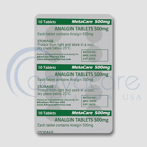 Analgin (Metamizole Sodium) Tablets Manufacturer 3