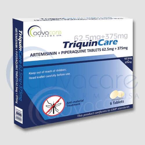 Tabletas de Piperaquina + Artemisinina