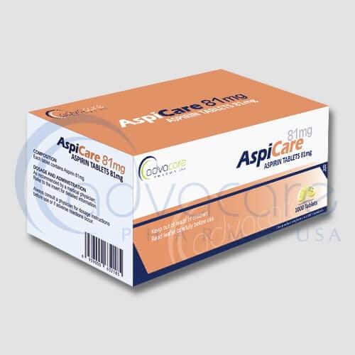 Aspirin (Acetylsalicylic Acid) Tablets