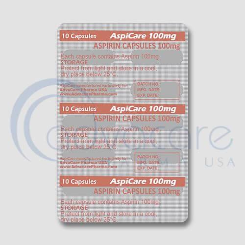 Aspirin (Acetylsalicylic Acid) Capsules Manufacturer 4