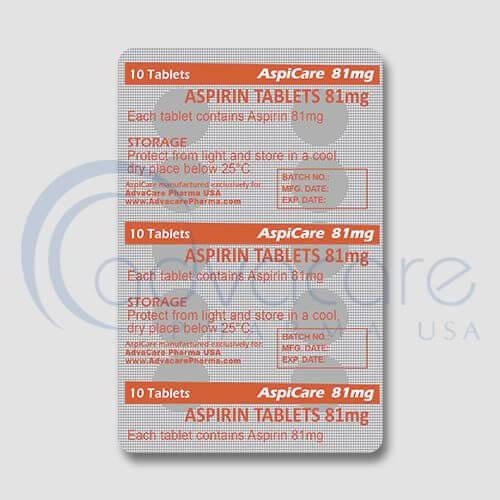 Aspirin (Acetylsalicylic Acid) Tablets Manufacturer 3