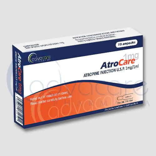 Atropine Injections Manufacturer 1