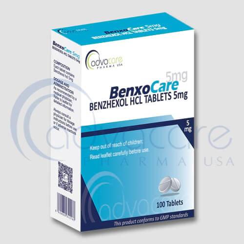 Tabletas de Benzhexol HCL
