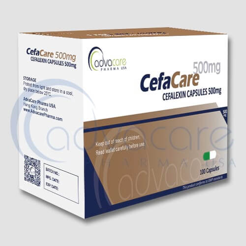 Cápsulas de Cefalexina