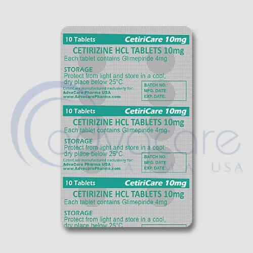 Cetirizine HCL Tablets Manufacturer 3