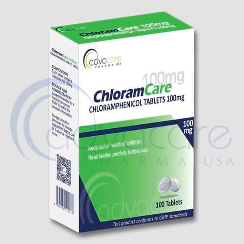 Comprimés de Chloromycétine