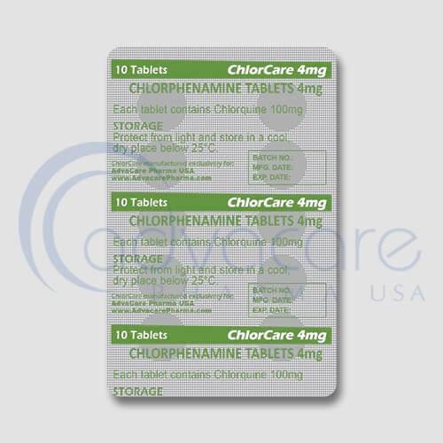 Chlorphenamine Tablets Manufacturer 3