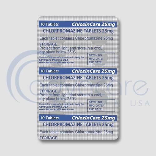 Chlorpromazine Tablets Manufacturer 3