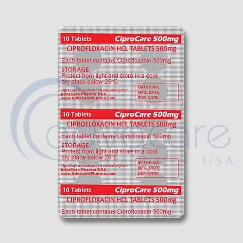 Ciprofloxacin HCL Tablets Manufacturer 3