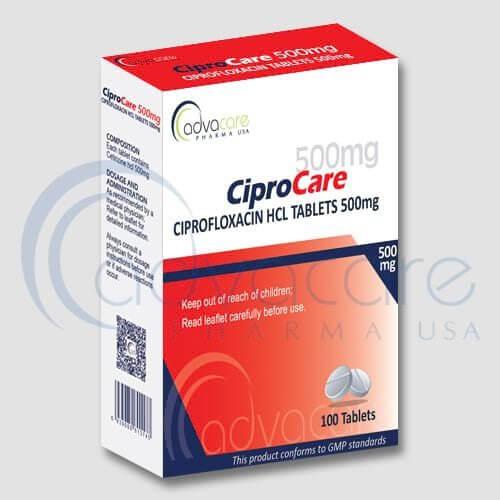 Ciprofloxacin HCL Tablets Manufacturer 1