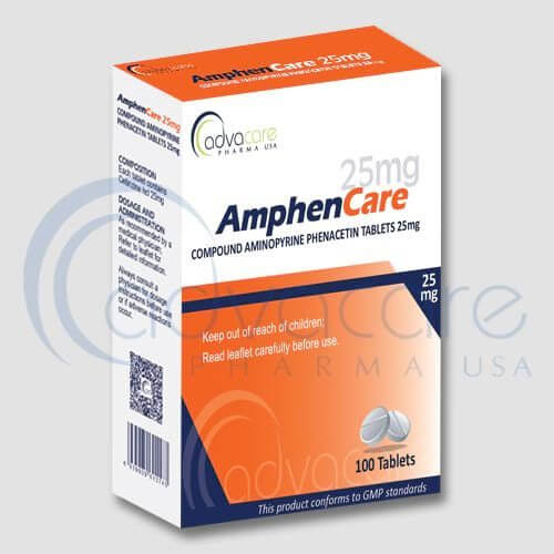 Compound Aminopyrine Phenacetin Tablets