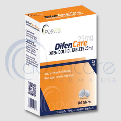 Tabletas de Difenidol HCL (difenidol)