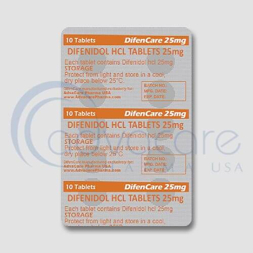 Difenidol (Diphenidol) HCL Tablets Manufacturer 3