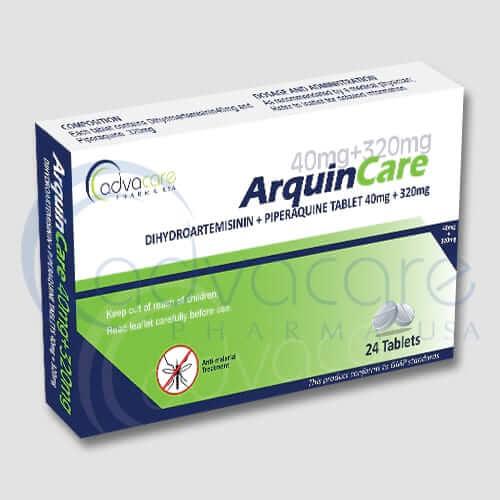 Tabletas de Dihidroartemisinina + Piperaquina