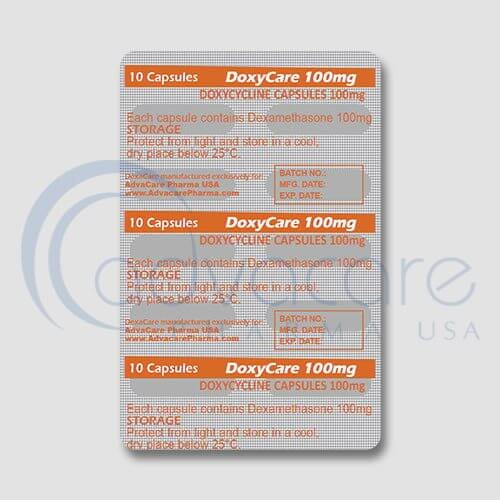 Doxycycline Capsules Manufacturer 3