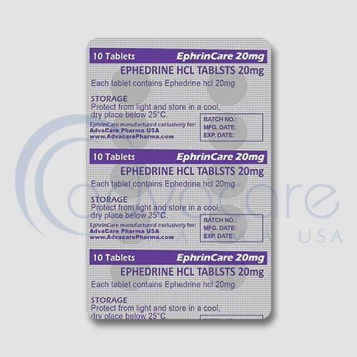 Ephedrine HCL Tablets Manufacturer 3