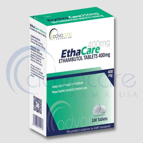 Tabletas de Etambutol HCL