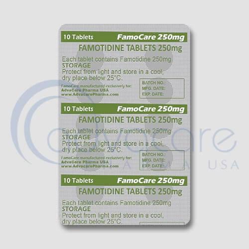 Famotidine Tablets Manufacturer 3