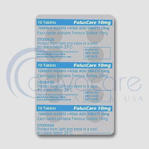 Ferrous Sulfate + Folic Acid Tablets Manufacturer 3
