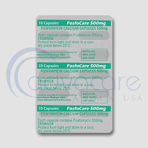 Fosfomycin Calcium Capsules Manufacturer 2