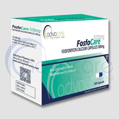 Fosfomycine Calcium en Capsules