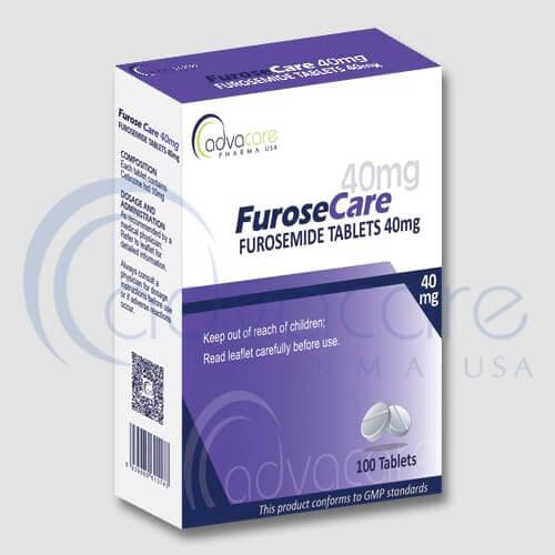 Tabletas de Furosemida