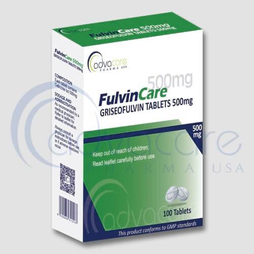 Griseofulvin Tablets Manufacturer 1