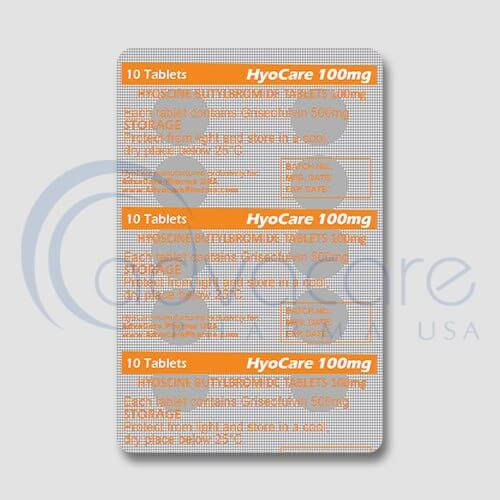 Hyoscine Butylbromide Tablets Manufacturer 3