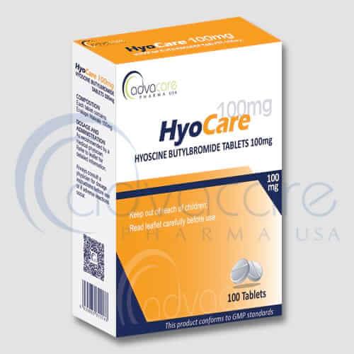 Tabletas de Butilbromuro de Hioscina