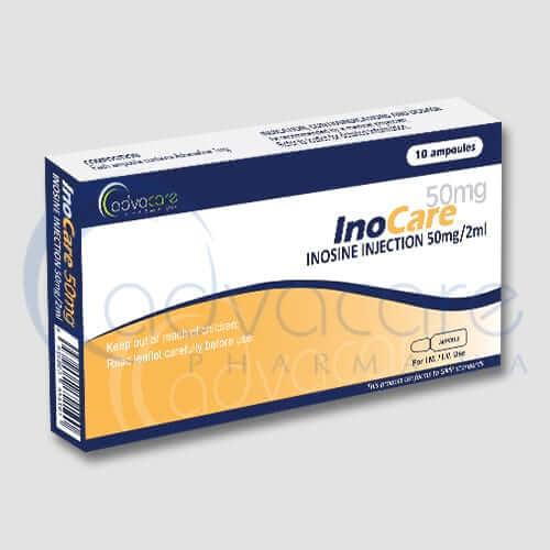 Inyecciones de Inosina (Hipoxantosina)