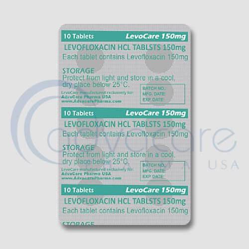 Levofloxacin HCL Tablets Manufacturer 3