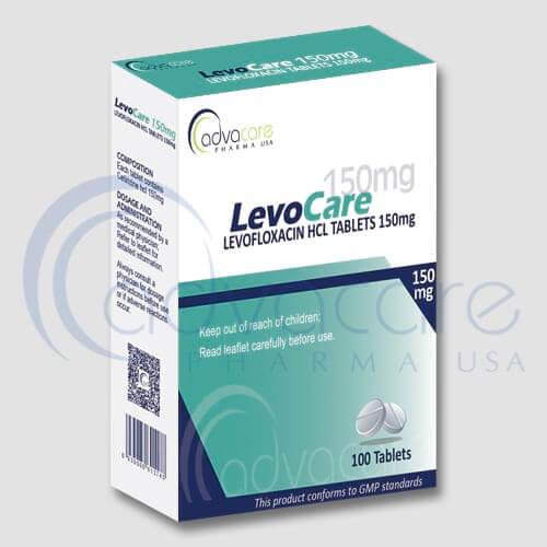 Comprimés de Lévofloxacine HCL