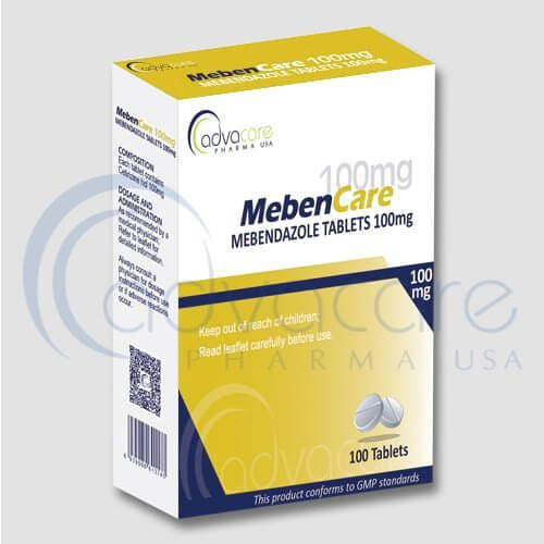 Tabletas de Mebendazol