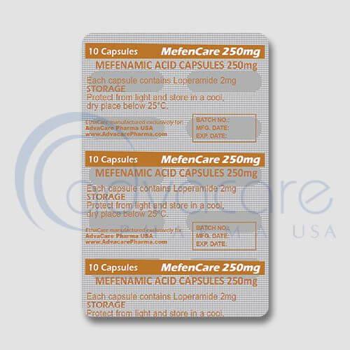 Mefenamic Acid Capsules Manufacturer 2
