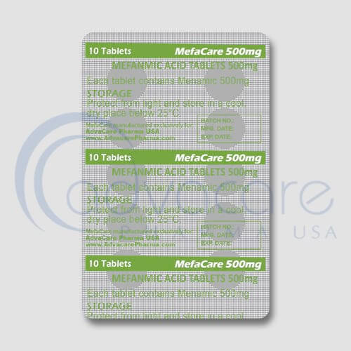 Mefenamic Acid Tablets Manufacturer 3
