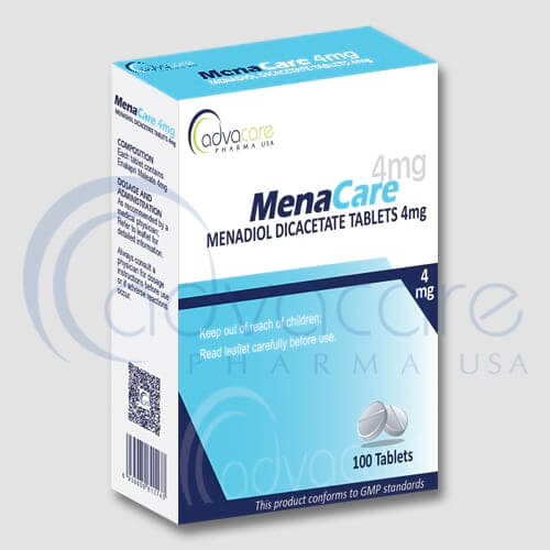 Menadiol Diacetate Tablets Manufacturer 1