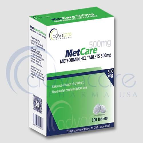 Comprimés de Chlorhydrate de Metformine